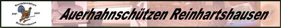 Auerhahnschützen Reinhartshausen